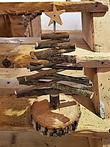 Dekorácie - Drevený stromček - 10206830_