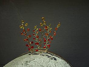 Detské doplnky - Korunka královny ohně - 10204693_
