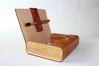 Tašky - Pánska kozmetická taška z kože - Media - 10205946_