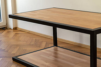 Nábytok - Stôl v minimalistickom štýle - 10205912_
