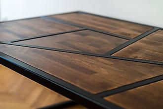 Nábytok - Stôl v industriálnom štýle - 10205932_