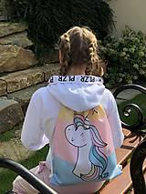 Batohy - Vak Unicorn farebný - 10207799_
