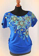Tričká - Maľované tričko... - 10205207_