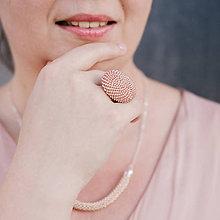 Sady šperkov - Set Eleganz v drevenej darčekovej kazete - 10203927_