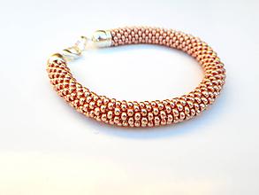 Sady šperkov - Set Eleganz v drevenej darčekovej kazete (Rose gold) - 10203943_