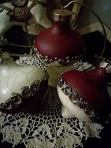 Dekorácie - viktoriánske trio... - 10206350_