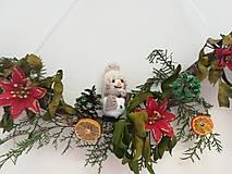 Dekorácie - Snehuliacik capucino - 10204646_