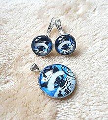 Sady šperkov - Set mačka v zime - 10207705_