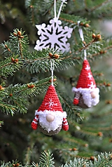 Dekorácie - Vianočný škriatkovia ❄ - 10204875_