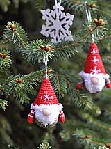 Dekorácie - Vianočný škriatkovia ❄ - 10204879_