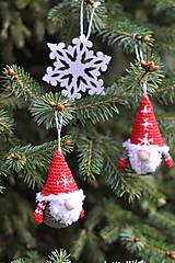 Dekorácie - Vianočný škriatkovia ❄ - 10204880_