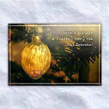 Grafika - Vianočná virtuálna pohľadnica - oriešok - 10207226_