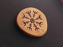 Magnetky - Drevené magnetky - výpredaj - 10207049_