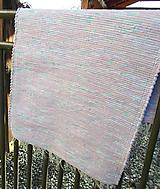 Úžitkový textil - ružový koberček - 10211651_
