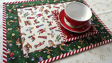 Úžitkový textil - Christmas Toys ... prestieranie 4 ks - 10209445_