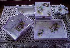 Nezaradené - Súprava drevených krabičiek - 10209778_