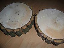 Polotovary - Pláty - podložky z topoľového dreva - 10210372_