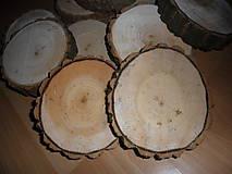 Polotovary - Pláty - podložky z topoľového dreva - 10210401_