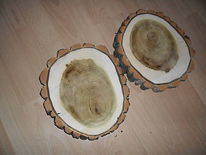 Polotovary - Pláty - podložky z topoľového dreva - 10210170_