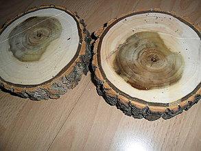 Polotovary - Pláty - podložky z topoľového dreva - 10210358_