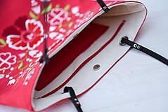 Veľké tašky - Veľká ľanová taška Poľana - 10210817_