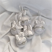 Dekorácie - Vianočná guľa - 10211620_