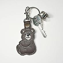 Kľúčenky - Prívesok macko (hnedá 2) - 10210237_