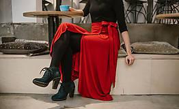 Sukne - Zavinovacia bambusová sukňa - 10211896_