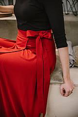Sukne - Zavinovacia bambusová sukňa - 10211899_
