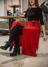 Sukne - Zavinovacia bambusová sukňa - 10211900_