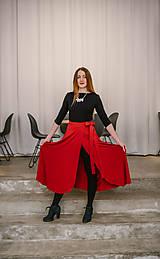 Sukne - Zavinovacia bambusová sukňa - 10211905_