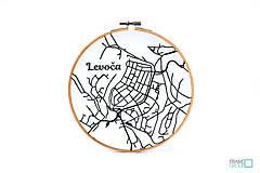 Dekorácie - VYŠIMA - súprava na vyšívanie Levoča - 10209820_