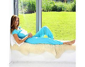 Pyžamy a župany - Azure - tričko a dlhé nohavice - 10212222_