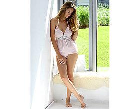 Pyžamy a župany - Lullaby - košieľka a nohavičky, rôzne farby - 10212242_