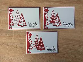 """Papiernictvo - Vianočné pohľadnice """"Stromček II"""" - 10209966_"""