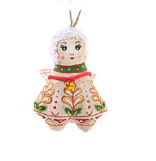 Dekorácie - Textilný Anjel s vôňou vanilky - 10211619_