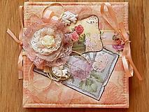 Papiernictvo - Fotoalbum v romantickom vintage štýle - 10211647_