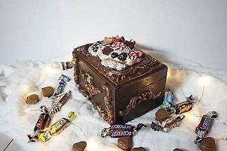 Dekorácie - Čokoládový Box - 10209341_