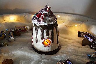 Svietidlá a sviečky - Čokoládový Domček Lampáš - 10209360_