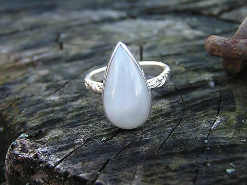 8cecf5a3e Strieborny prsteň Ag925 Mesačný kameň / Icus - SAShE.sk - Handmade ...