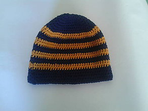 Detské čiapky - chlapčenská čiapka - 10210062_
