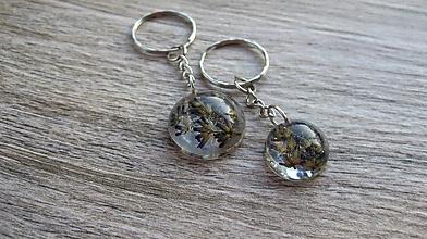 Kľúčenky - Sada kľúčeniek s levandulou, č. 2505 - 10210357_