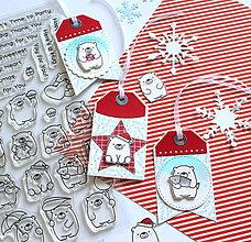 Papiernictvo - Vianočné visačky - 10209003_