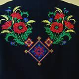 Kabáty - Vyšívaný , folklórny , ľudový , dámsky , kabát - 10211285_