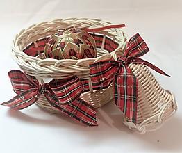 Dekorácie - Vianočné trio - 10211338_