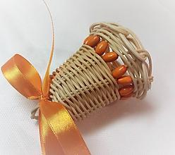 Dekorácie - Zvonček - 7 cm - 10212379_