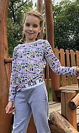 Tričká - Termo tričko Shopping s dlhým rukávom - 10208499_
