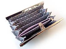 Peňaženky - Peňaženka s priehradkami Zajačik v sade - 10208854_