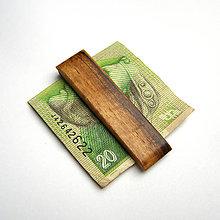 Tašky - Orechová spona na peniaze - 10209699_