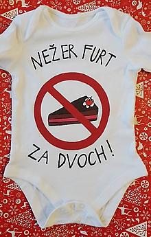 Detské oblečenie - Nežer furt za dvoch ! - 10212846_